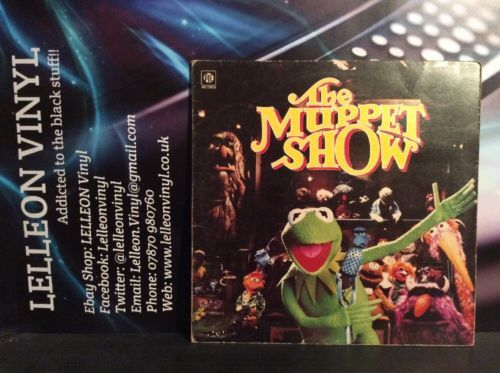 The Muppet Show Gatefold LP (COVER ONLY) Vinyl Included But Heavily Scratched Music:Records:Albums/ LPs:Soundtracks/ Themes:TV