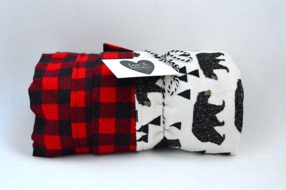 Comforter Toddler Blanket Gorgeous Geometric by LoveAndLullabiesCB