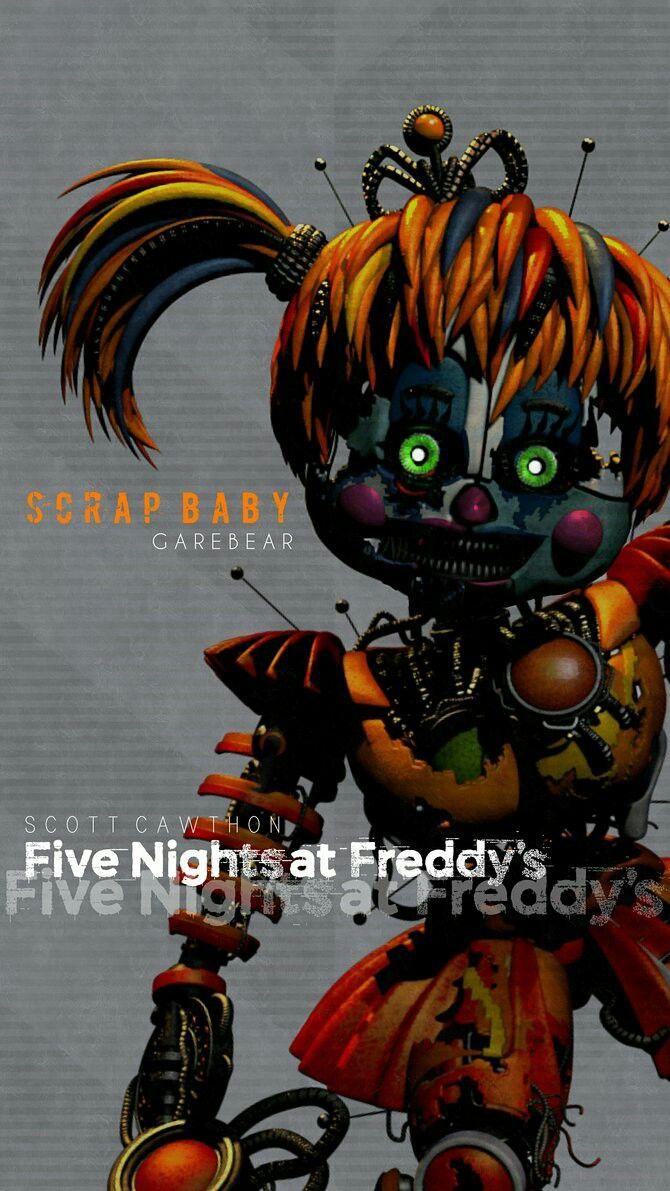 Five Nights At Freddy S Circus Baby Wallpaper Five Nights At Freddy S 6 Wallpaper Fnaf Wallpapers Fnaf Baby Fnaf Freddy Fazbear