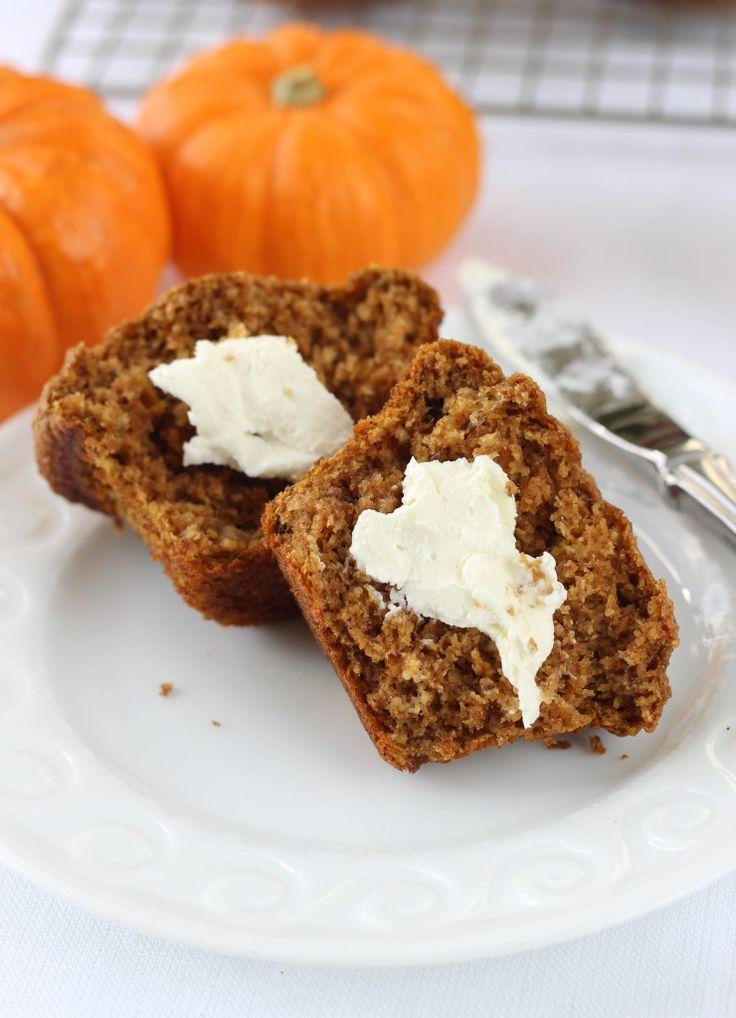 Healthy Pumpkin Banana Bran Muffins - American Heritage Cooking