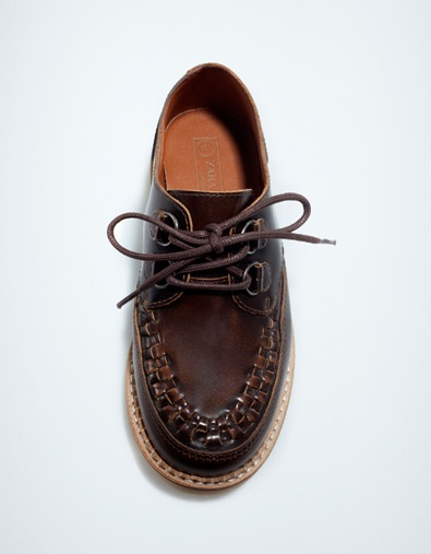 IMAGE LEATHER OXFORD - Shoes - Boy (2-14 years) - Kids - ZARA United States