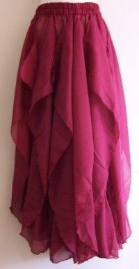 Crimson harem pants.: Crimson Harems, Costumes Inspiration, Pants Sets, Bellydance Costumes, Harems Pants, Chiffon Harems, Summer Steez, Crafts Inspiration, Harem Pants