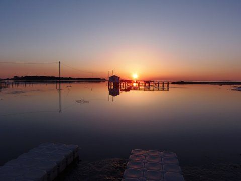 Easter Sunrise (kayak dock) 2015