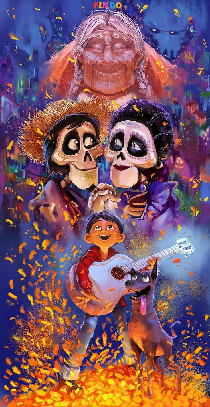 ★Imágenes de Coco★ Disney amor, Fondos de peliculas y
