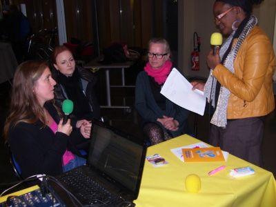 21/11/13. Thorigné-Fouillard (35). Aurélie Duval, correspondante Différent et Compétent à Maffrais Services (extrait n°4). ECOUTER sur Zénith FM pour la Semaine pour l'emploi des Personnes Handicapées à Rennes. http://www.zenithfm.fr/Semaine-pour-l-emploi-des-Personnes-Handicapees-a-Rennes-Retrouvez-nos-interviews_a5603.html