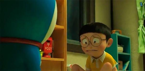 CINE: Stand by me Doraemon – Trailer español tand by me Doraemon – Trailer español Stand by me Doraemon – Trailer español posted by juanlh | noviembre 4, 2014 | In cine  Nobita Nobi es un niño bastante patoso al que, a menudo, las cosas le salen del revés. Un día recibe la visita de Sewashi, un misterioso niño que afirma ser su tataranieto del siglo XXII y le explica que ha venido a verle porque su futuro es un desastre que arruinará a toda su familia durante generaciones.
