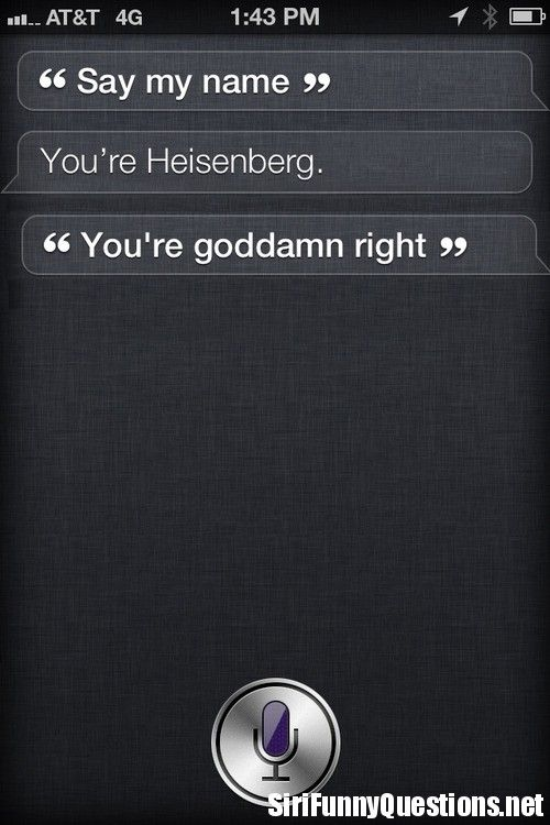 how to talk to siri on iphone