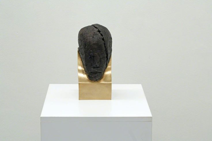 Aron Demetz, Untitled, 2015  @ Galleria Doris Ghetta installation view AUTARK. Aron Demetz - Robert Pan