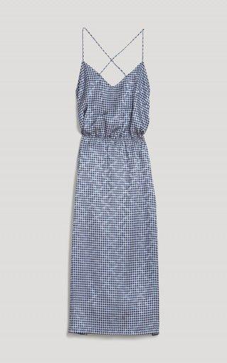 Simple elastic waist dress