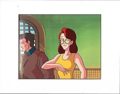 Real Ghostbusters JANINE VENKMAN DIC production animation art cell