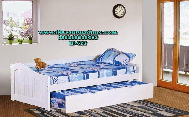 Tempat Tidur Sorong Murah Minimalis Terbaru IF-627