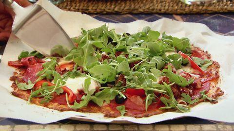 Glutenfri pizza, recept av Caroline Ek i Mästarnas mästare.