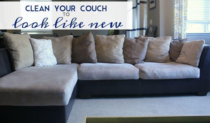 how to clean microfiber sofa cushions