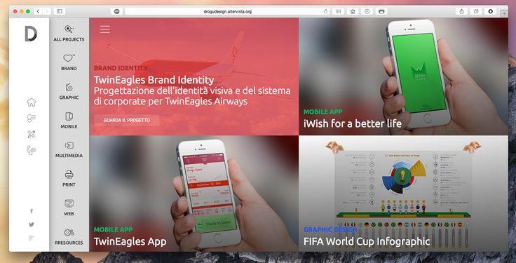 Drogu Design website WIP by Hysen Drogu