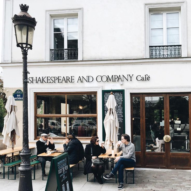 """toujoursdramatique: """" Came for the books, stayed for the avocado bagel. (at Shakespeare and Company) """""""