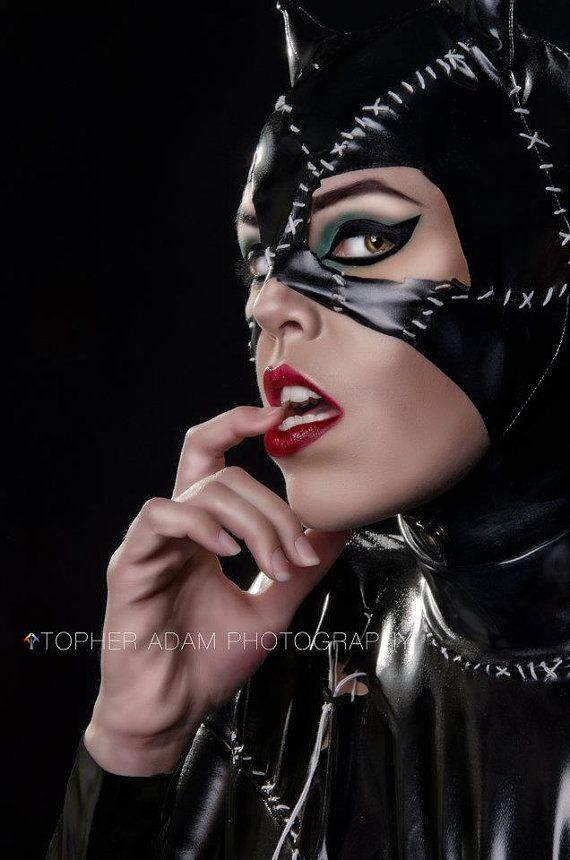 Michelle Pfieffer Catwoman Suit Movie Reproduction Batman Returns costumes
