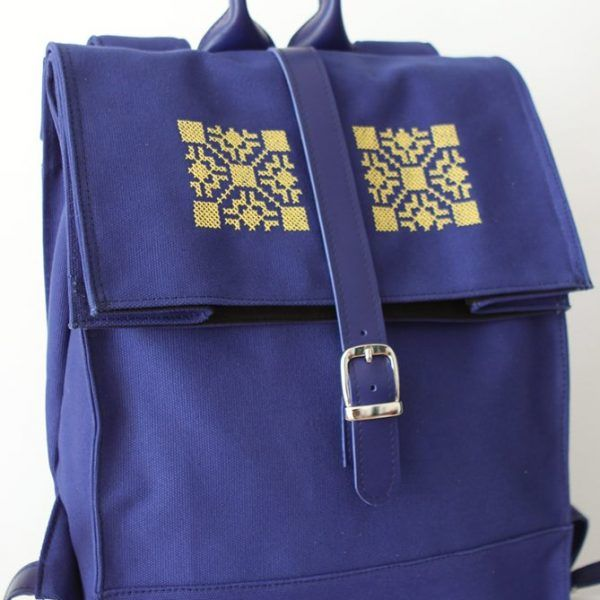 Rucsac Burlan Made With Love By Letta