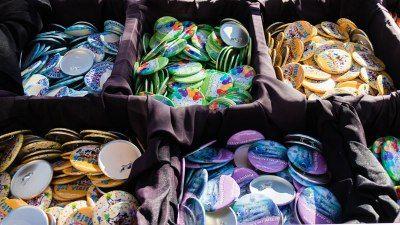 Celebration Buttons - Magic Kingdom - Disney World Free-Stuff