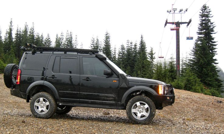 2007 Lr3 Hse Black Tan Many Mods For Camping And