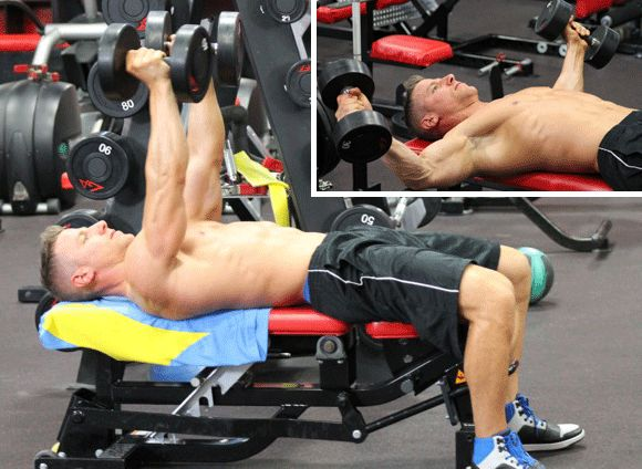 One-Off Workout: Build a Bigger Chest With Supersets - Mens Fitness
