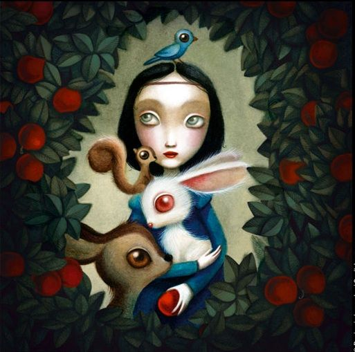 Snow White, Benjamin Lacombe