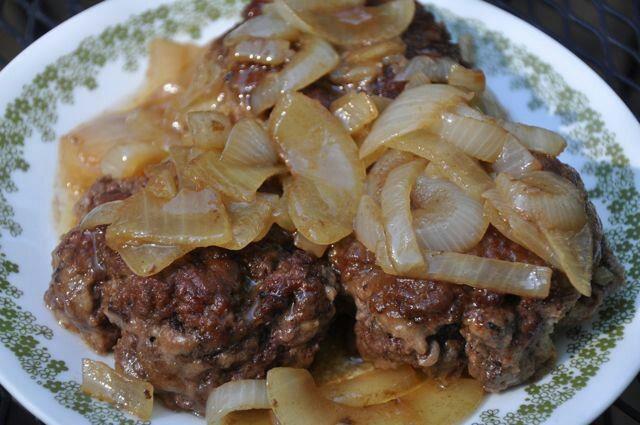 Hamburger Steaks | Cooking | Pinterest
