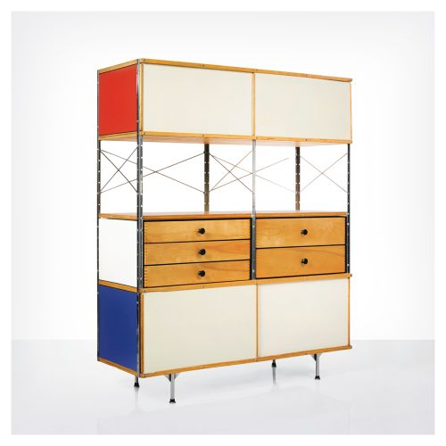 Charles and Ray Eames - Esu series cabinet for Herman Miller - 1954
