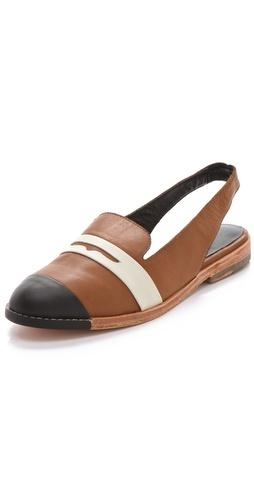Rachel Comey penny loafer sling backs: Comey Loafers, Southpaw Pennies, Rachel Comey, Comey Flats, Comey Southpaw, Fall Shoes, Comey Pennies, Pennies Loafers, Loafers Slingback