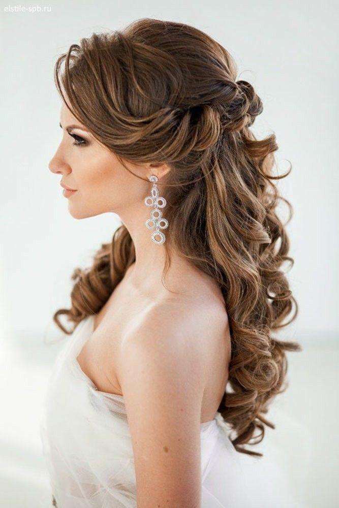 Pin Von Katia Boudarene Auf Coiffure Mariee Wedding Hairstyles Hochzeitsfrisuren Lockige Hochzeitsfrisuren Hochzeitsfrisuren Lange Haare