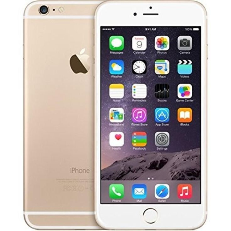 Apple iPhone 6 Plus 128GB Factory Unlocked GSM 4G LTE Cell Phone Gold