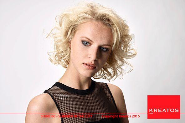 Kreatos kapsels voor vrouwen 2015 -Summer In The City - haar halflang blond golvend