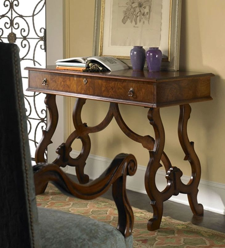Luxury Home Furniture Design Of Tuscany Tuscan Drop Leaf Desk - pictures, photos, images