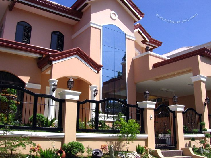 14 best images about filipino residences on pinterest for Brand new home designs