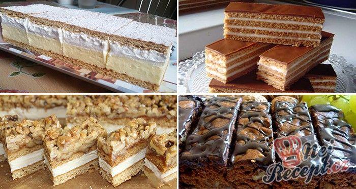 Medové zákusky a dezerty jsou ideální na různé oslavy nebo svátky. S dobrým medovým koláčem nic nezkazíte. Sesbírali jsme pro vás 13 nejlepších receptů, ze kterých si určitě vyberete. Nebojte se pustit do přípravy jednoho z těchto zákusků. Jsou opravdu jednoduché a i když vypadají složitě, nakonec si řeknete, že to byla pro vás malina :) Jaký medový zákusek je pro vás ten nejlepší? Jednoznačně dáváme do pozornosti koláček pod názvem Fenomenální medové řezy s ořechy nebo někdo ho zná ještě…