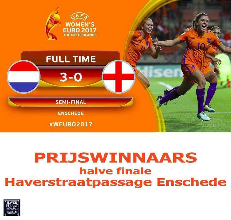 PRIJSWINNAARS halve finale 🇾🇪 - 🇬🇧 3-0 zijn Beernink & Duyn! Meer winnaars zie http://www.haverstraatpassage.nl/prijswinnaars-halve-finale-weuro/ #Haverstraatpassage #Enschede