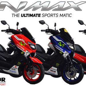 Berani beda itu keren ! Jadi pusat perhatian bersama Modifikasi Motor Yamaha NMax Custom. Melayani pembelian cash dan kredit untuk wilayah Jakarta, Tangerang, Depok, Bekasi dan Bogor. Info Pemesanan : Call / Wa: 081317027369 BBM: 58D6D90D