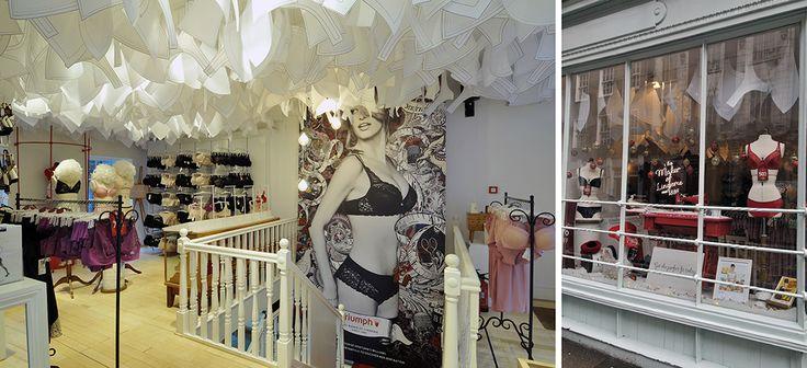 Triumph Lingerie - Maison Pop Up Shop - Monmouth Street, London