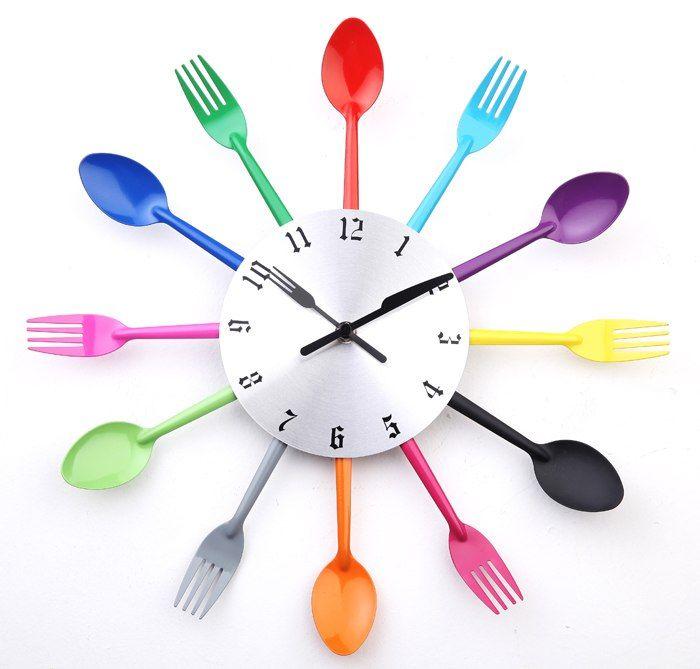 Relojes para la Cocina - A003 DIY diseño moderno reloj de ...