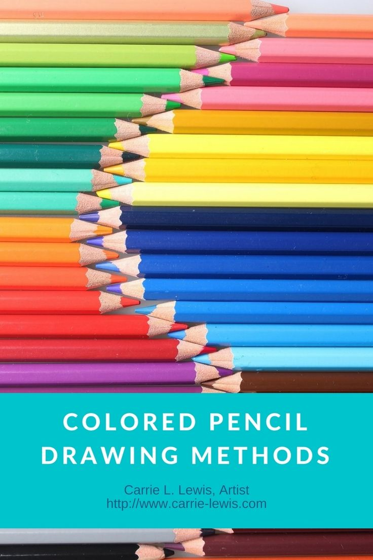 Colored Pencil Drawing Methods. Must-Read articles on complementary drawing, under drawing, and the direct method.