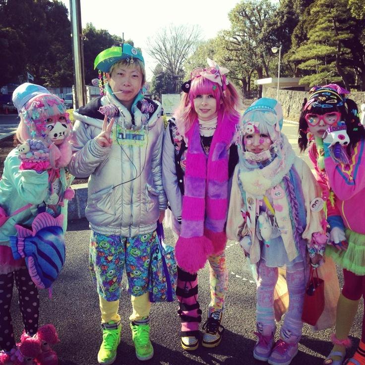 Best Japanese Street Fashion Decora Lolita Etc Images On