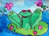 frogs in Monet's garden