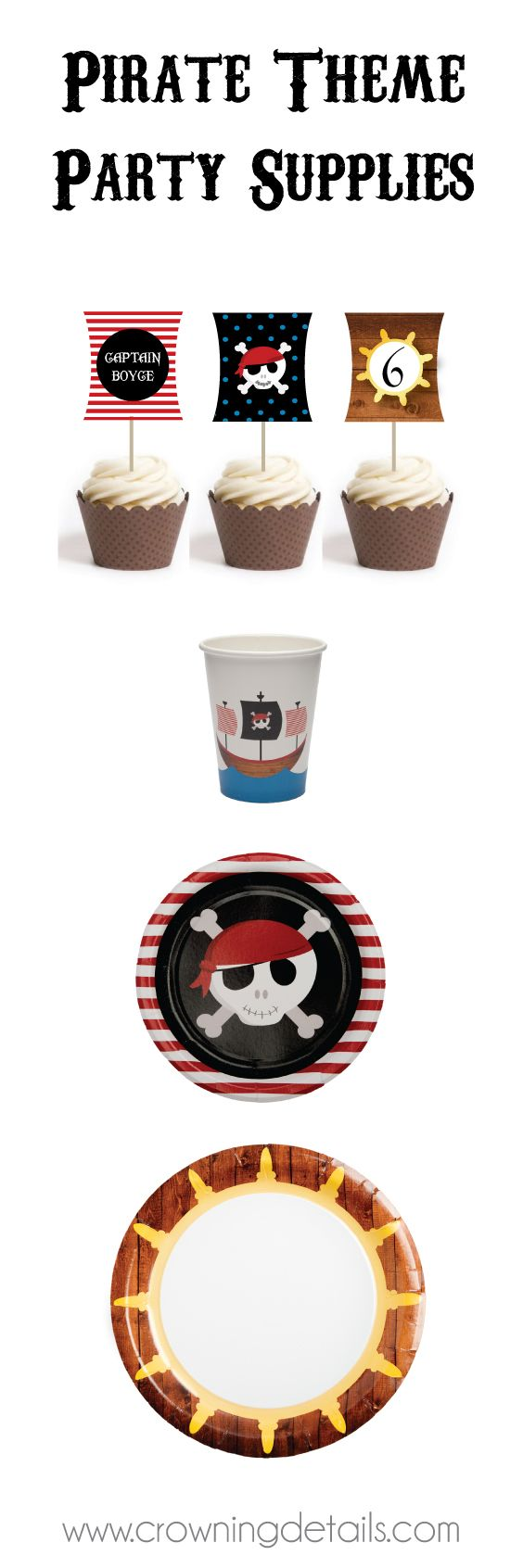 Printable pirate party decorations amp supplies free templates - Pirate Party Supplies For Your Pirate Birthday Party Shop The Entire Collection In Our Online
