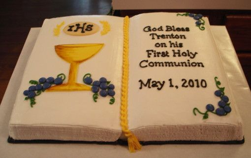 first communion cake - Google Search