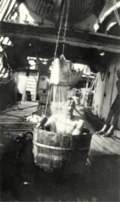 Peseytyminen saattoi vaatia kekseliäisyyttä. Kuva: Museovirasto/Suomen merimuseo.