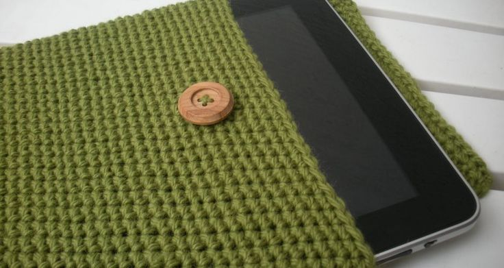 Good Ideas For You | Fun & Easy Crochet Gifts, I made something like this for my daughter's Wacom tablet