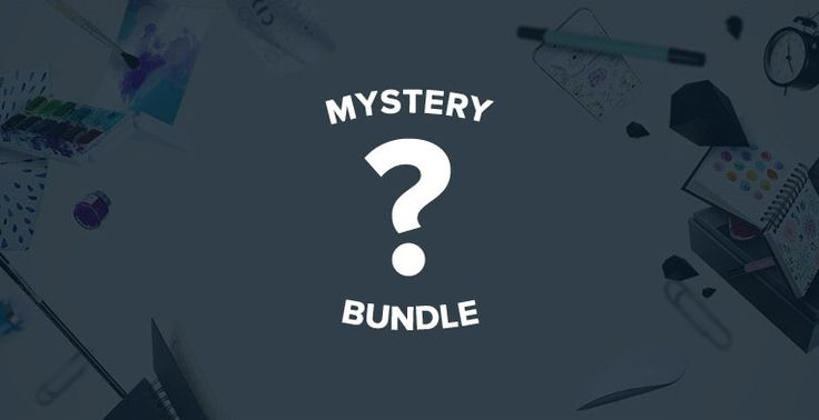 Good on Tuesday Sept 13_The mystery design bundle is a gift from us to you available for FREE for 3 more days with a complete commercial license.