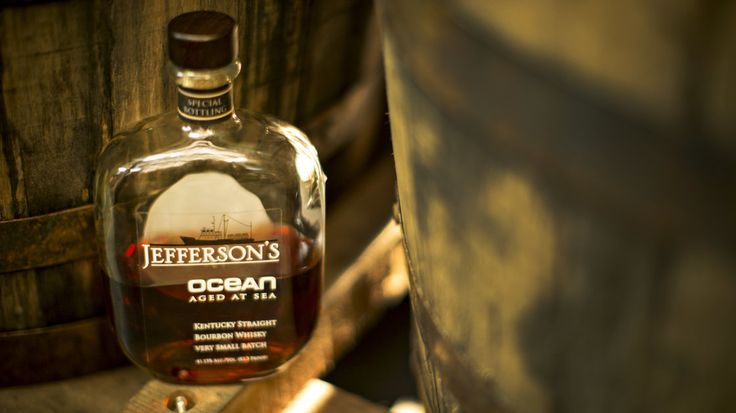 Jefferson's Ocean bourbon is aged on the high seas, a technique that takes advantage of basic physical chemistry. The bottles sell for $200 ...