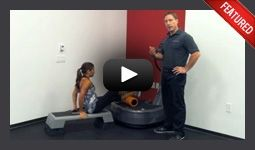 Power plate exercises.   My new favourite workout