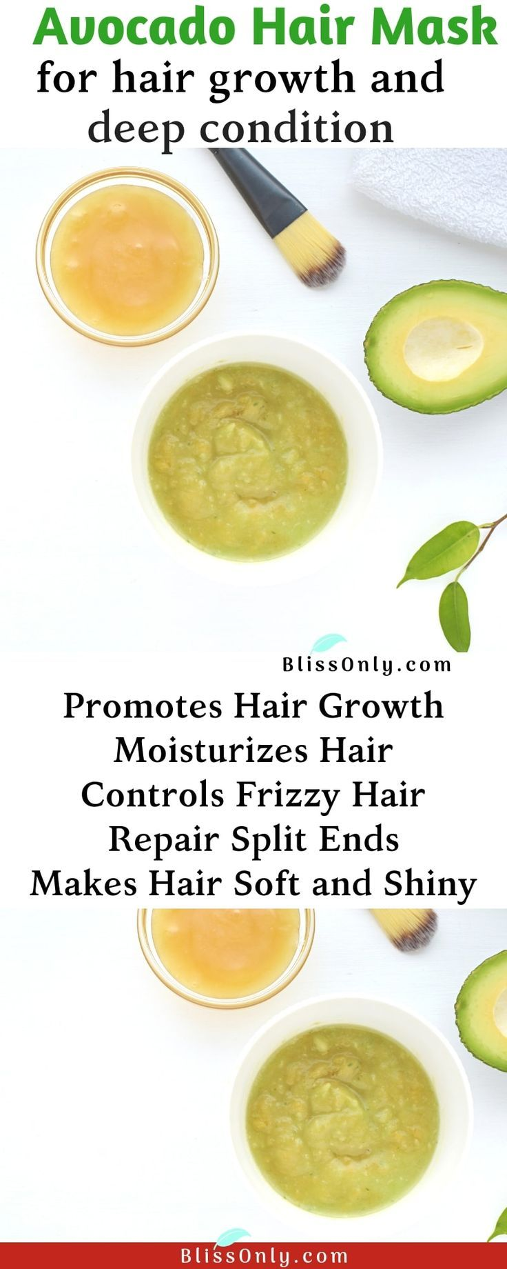Simple Avocado Hair Masks For Hair Progress And Deep Situation