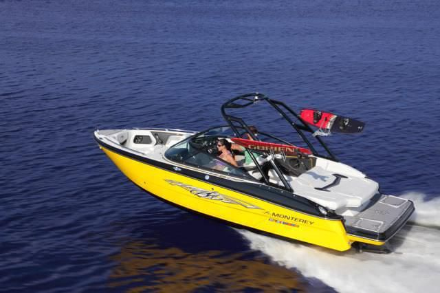 Inboard runabout / bowrider / wakeboard 218SS Monterey Boats